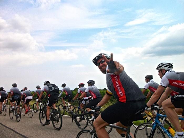 Pfitzenmeier Benefiz Radtour  6. Juli 2014