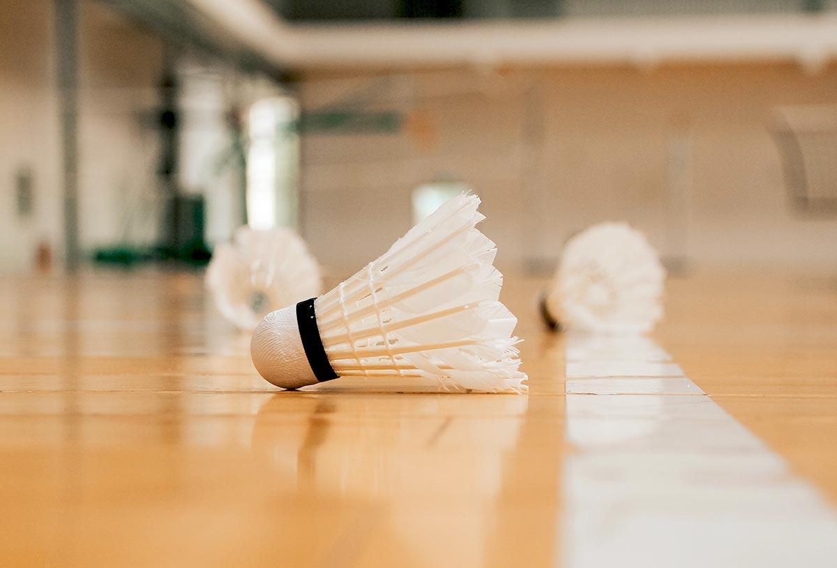 Schnelligkeit und Spielwitz: Badminton!