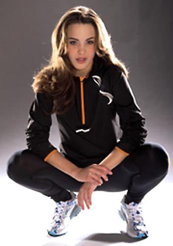 Funktionelle Sportbekleidung