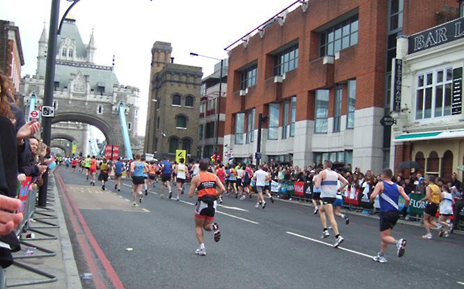 Der London Marathon