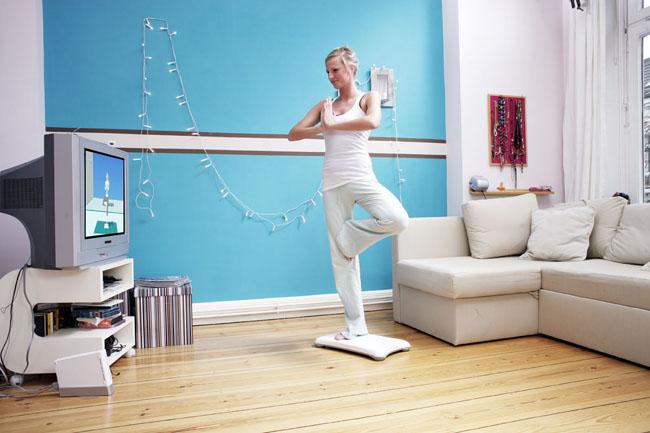 Die Wii-Fit Konsole im Fitness.com Test