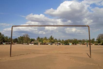 Schulsport im Kongo