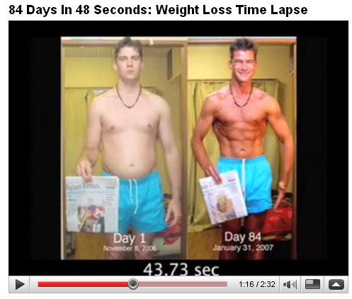 Vom Moppel zum Fitness-Star