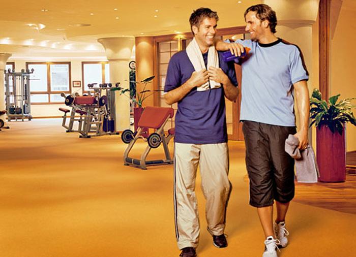 Fitness im Hotel