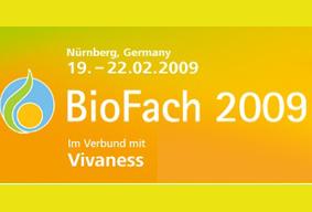 Biofachmesse für Bioprodukte, Naturkosmetik und Wellness