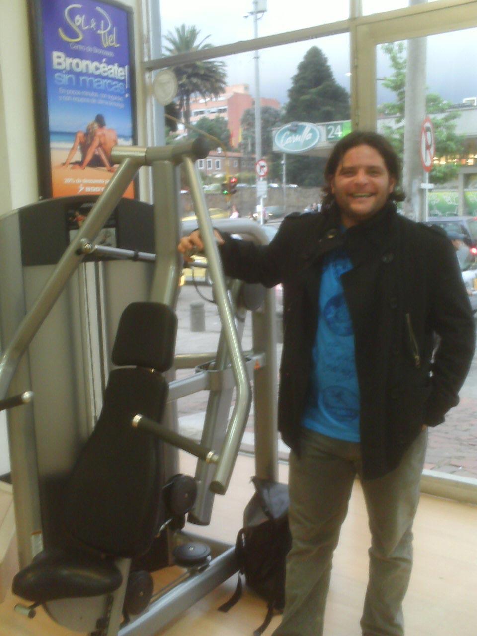 Cardio Training in Bogota: 2600 Meter über Null