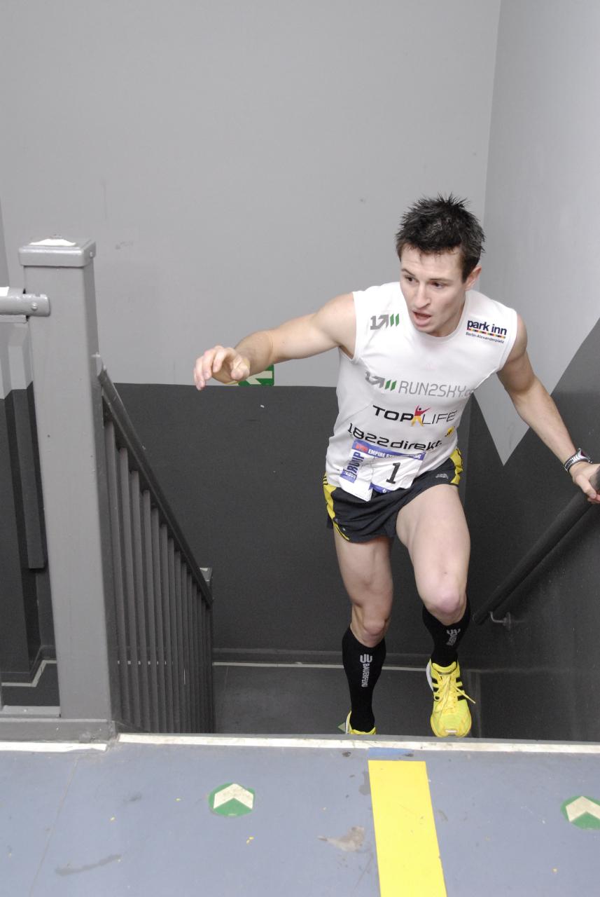 Das Ende der Treppenlifter: Trendsport Treppenlauf!