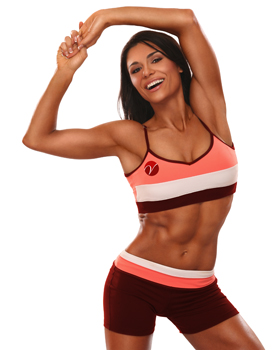 Vanda Hadarean inspirée par le fitness