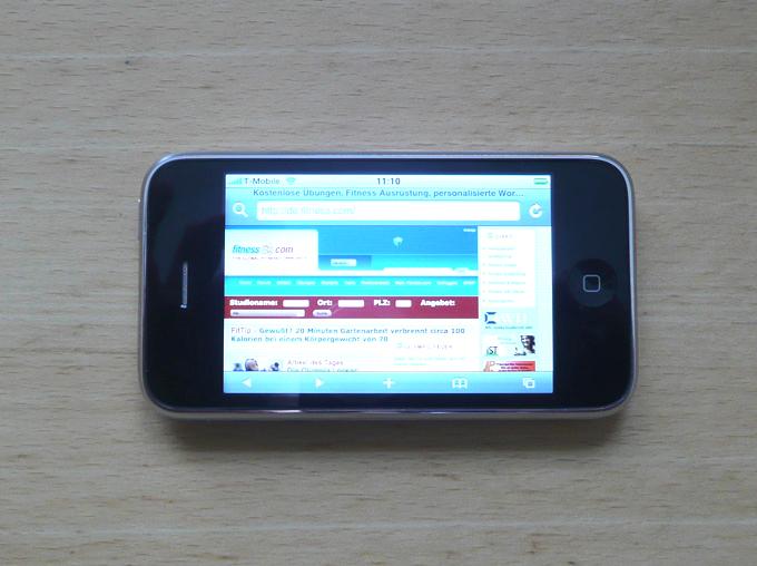 Apple iPhone 3G S für Sportler