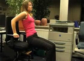 Video: der Schreibtisch-Stuhl als Fitness-Gerät