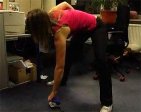 Video: Übung - Rückenrotation