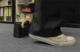 Video: Schlankes Bein, Sprungübung