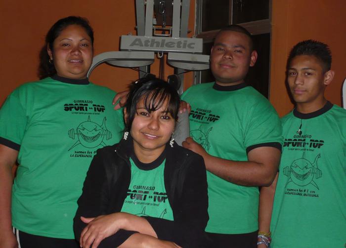 Fitnesstraining in Honduras