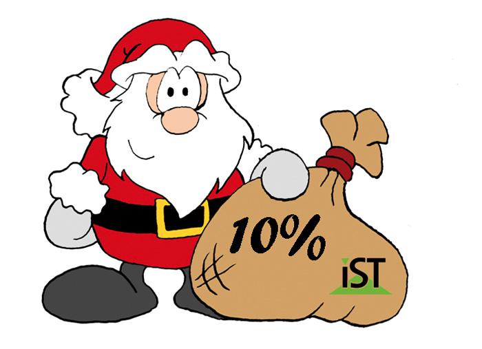Weihnachtsgeschenk vom IST-Studieninstitut!