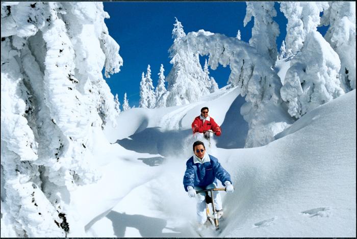 Wintersport: Snowbike