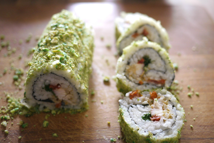 Sushi Kochkurs No. 2 - Fitnessküche  - California Rolls