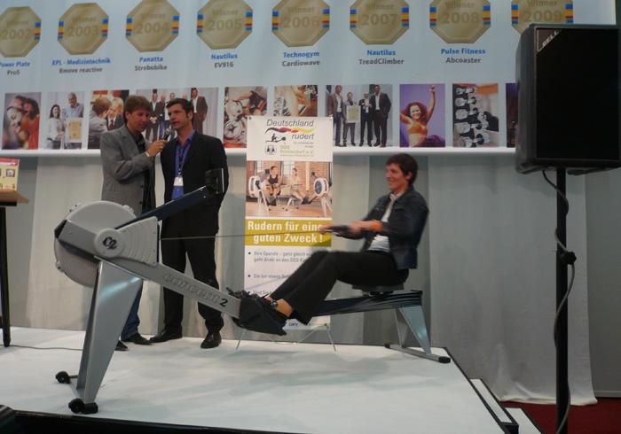 Fibo Essen 2010: Deutschland rudert für Unicef