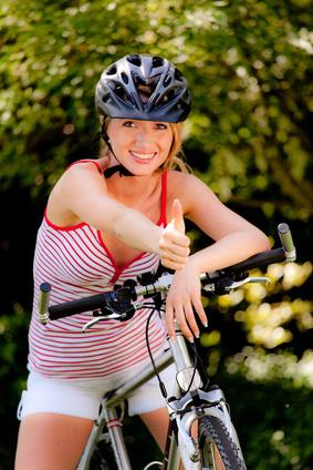 Radfahren: Nie ohne Helm!