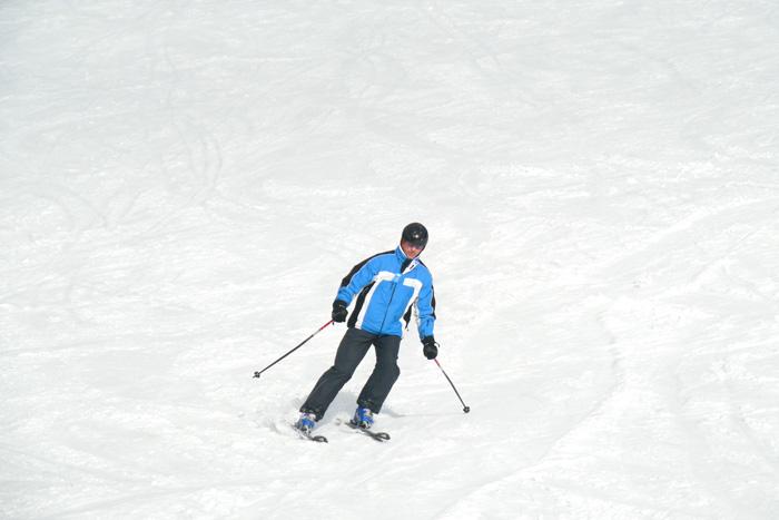 Für das Skifahren ist man nie zu alt