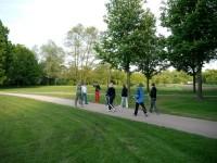 Nordic Walking:  Laufsport und die Gesundheit