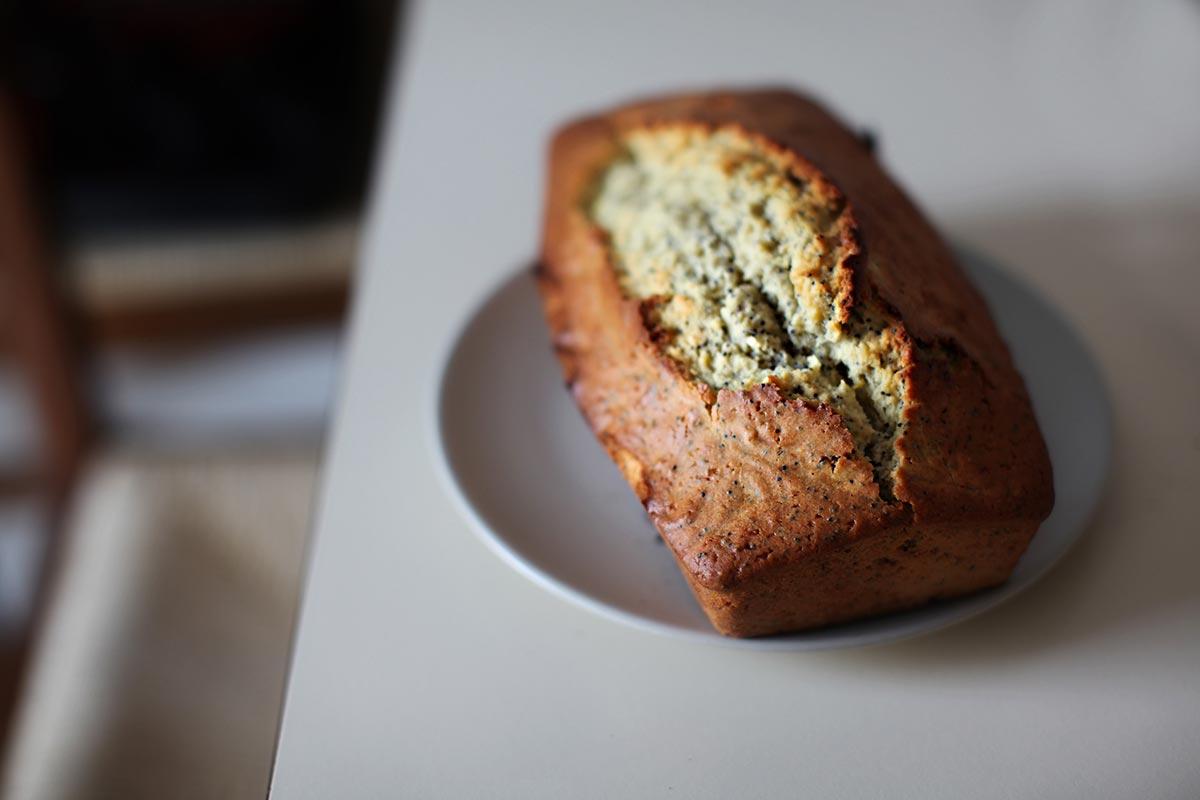 REZEPT: Bananen Protein Brot