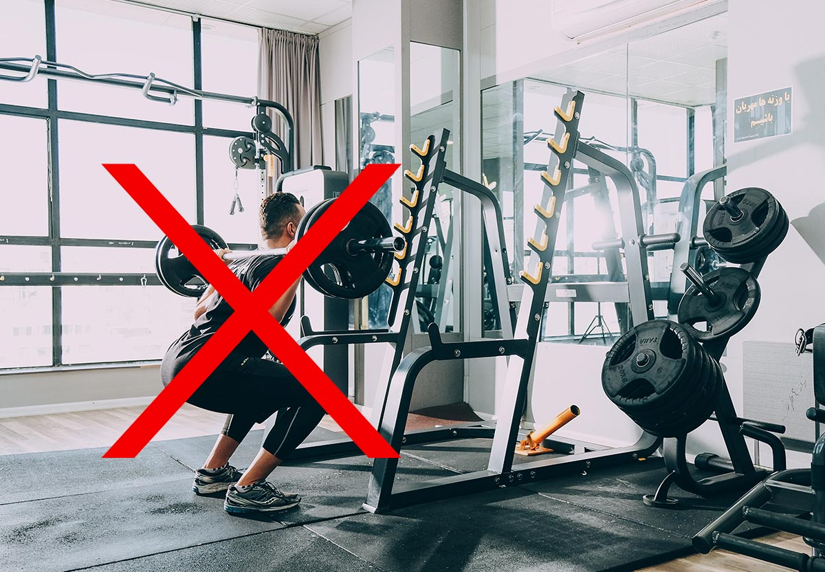 Squats and deadlifts after 40: Don't do it
