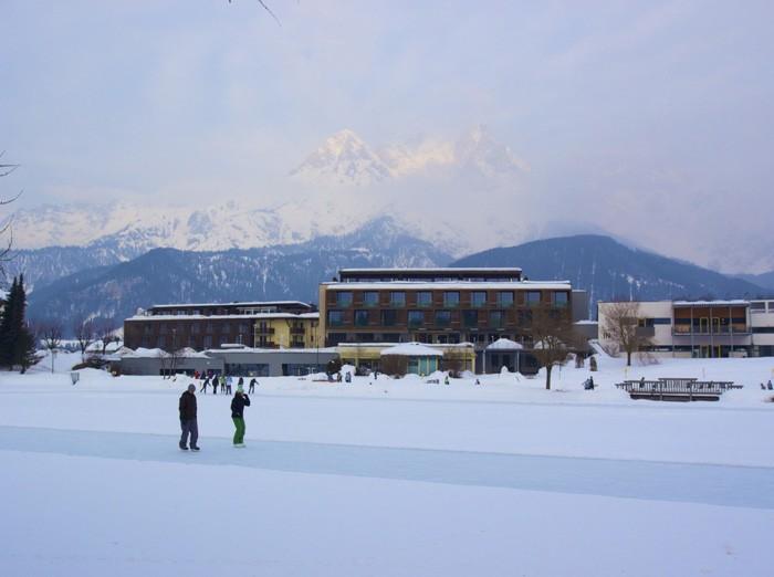 Winterurlaub am Ritzensee nahe Salzburg