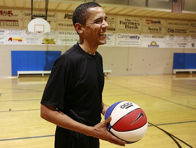 Barrack Obama:  Perfect fit for a President!