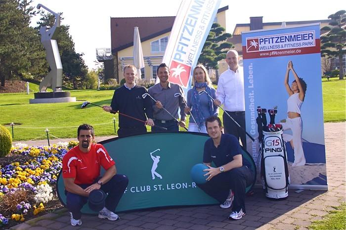 """Pfitzenmeier wird """"Offizieller Fitness & Gesundheitspartner"""" des Golfclub St. Leon Rot"""