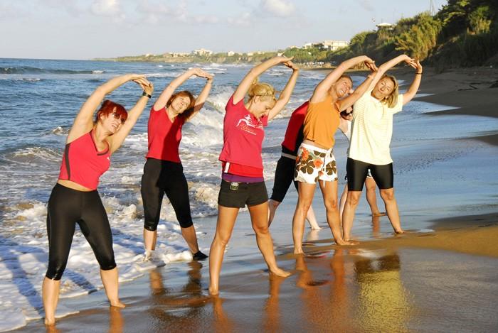 Aktivurlaub:  Entspannen und fit werden auf Korfu