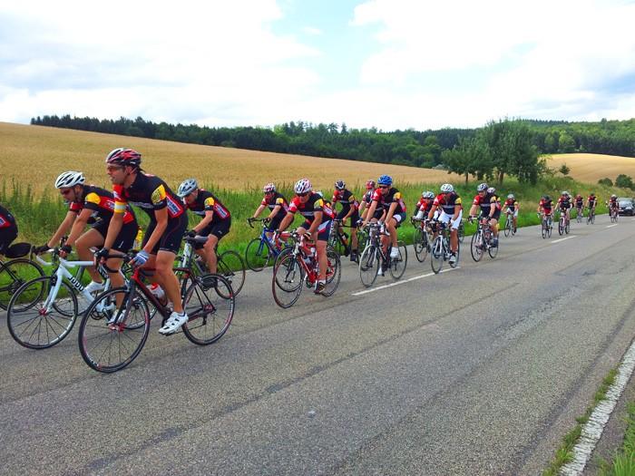 PfitzenmeierBenefiz Radtour Juli 2012 - erfolgreich!