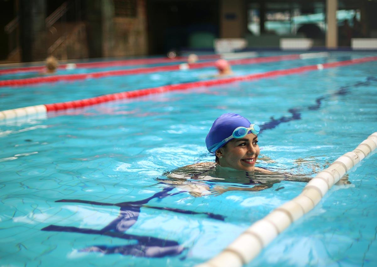 Schwimmen - oder das Ende der Rückenschmerzen