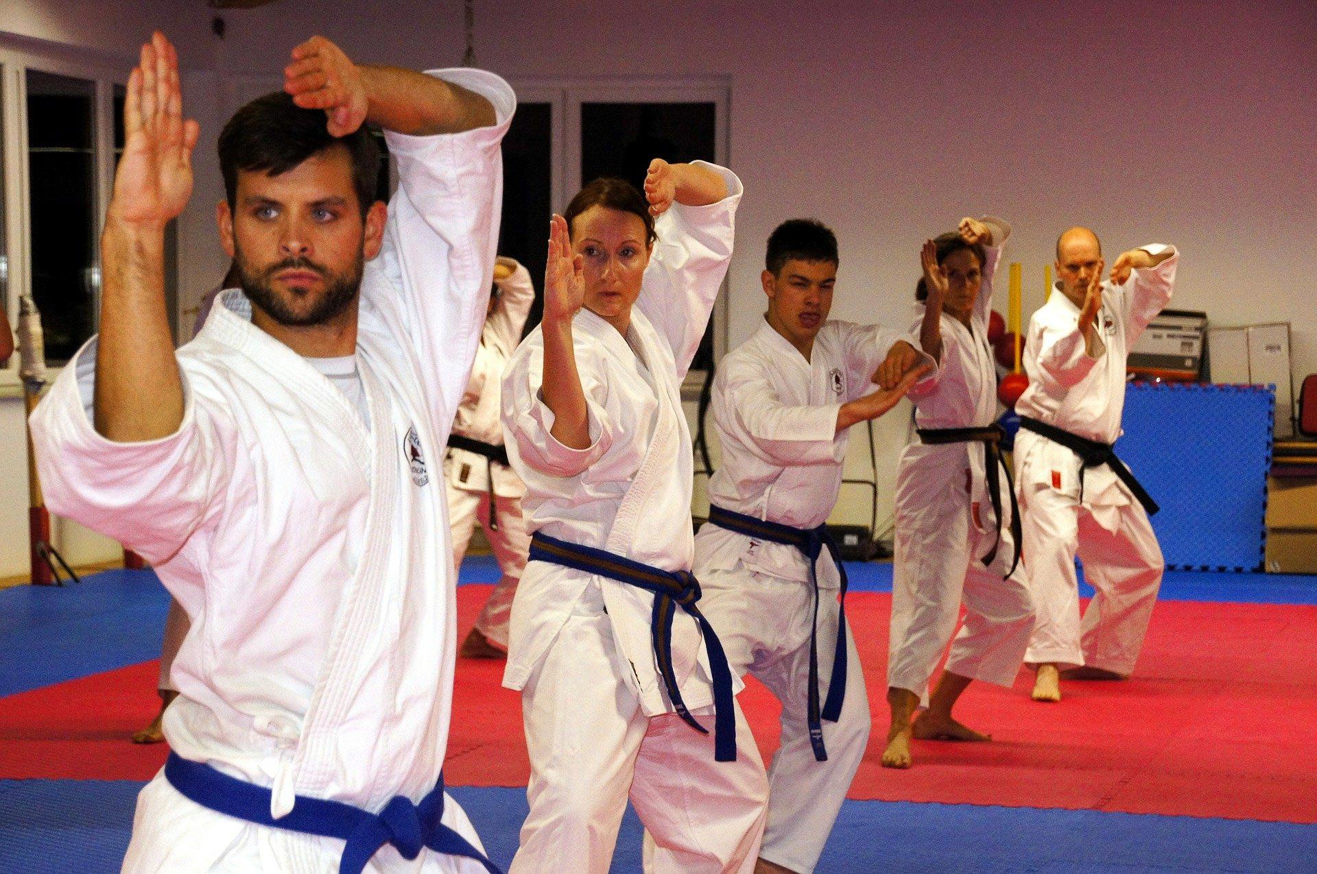Fit bleiben mit Kampfsport