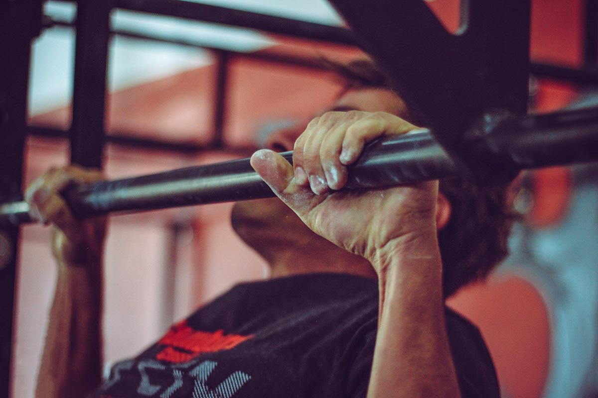 Can't do Pull-ups - Do Modified Pull ups