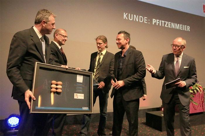Pfitzenmeier ausgezeichnet beim Wettbewerb für die pfiffigste Anzeige des Jahres 2013