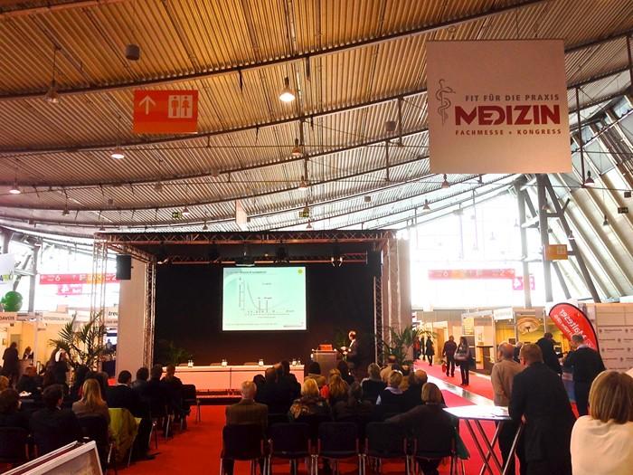 Physiotherapie Messe Therapro und Physiokongress in Stuttgart 2013