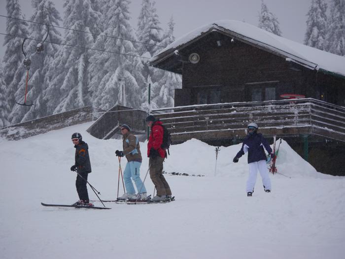 Wintersport auf dem Feldberg im Schwarzwald