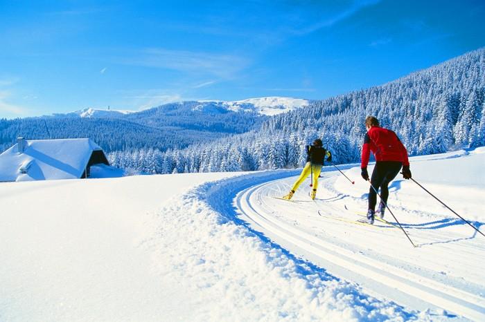 Wintersport am Titisee im Hochschwarzwald