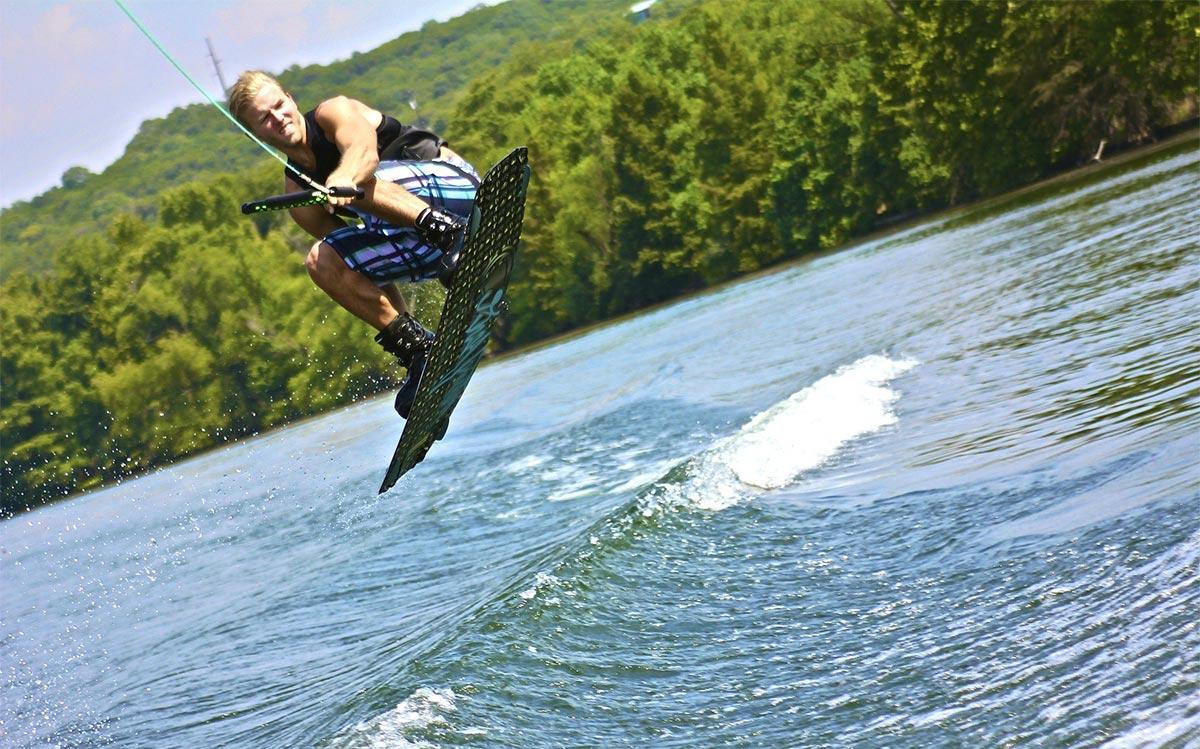 Wassersportler: Wakeboarding ist angesagt!