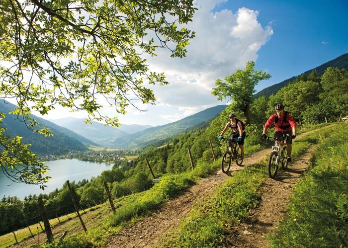 """Mit dem Mountainbike """"auf"""" nach Kärnten"""
