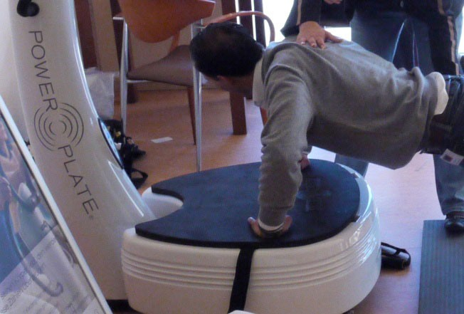 Power Plate - was ist dran am passiven Training?