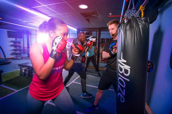 "HIIT Training ""Blaze"" im David Lloyd Fitness Club in Bad Homburg"