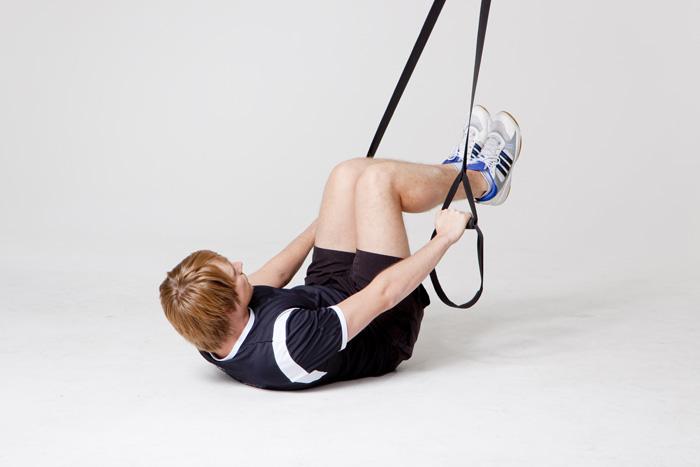 Effektives Fitnesstraining für zu Hause - Suspension Training
