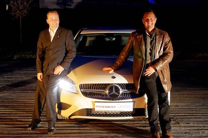 Afterwork Party mit der Mercedes Benz A Klasse