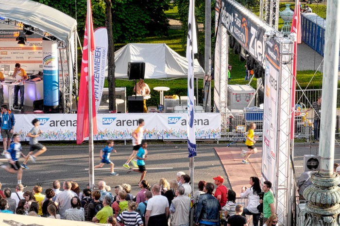 SAP ARENA Marathon 9.5.2015 in Mannheim