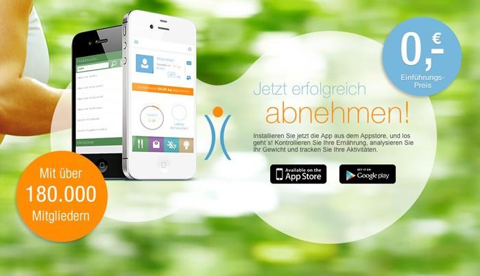 Die neue Abnehmen.com App  - von mir getestet
