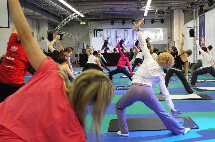 Fibo 2010 - Die Internationale Messe für  Fitness,Gesundheit und Wellness