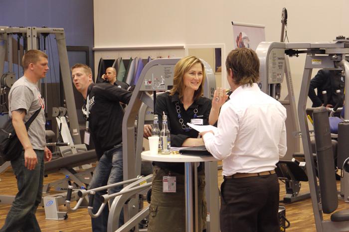 Fitnessmesse Fibo 2010 in Essen, Germany