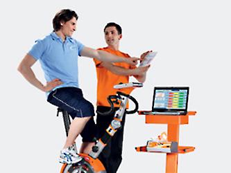 Leistungsdiagnostik im Fitnessstudio