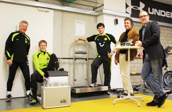 Hannover 96 setzt auf neue Therapieformen wie Vibrationstraining